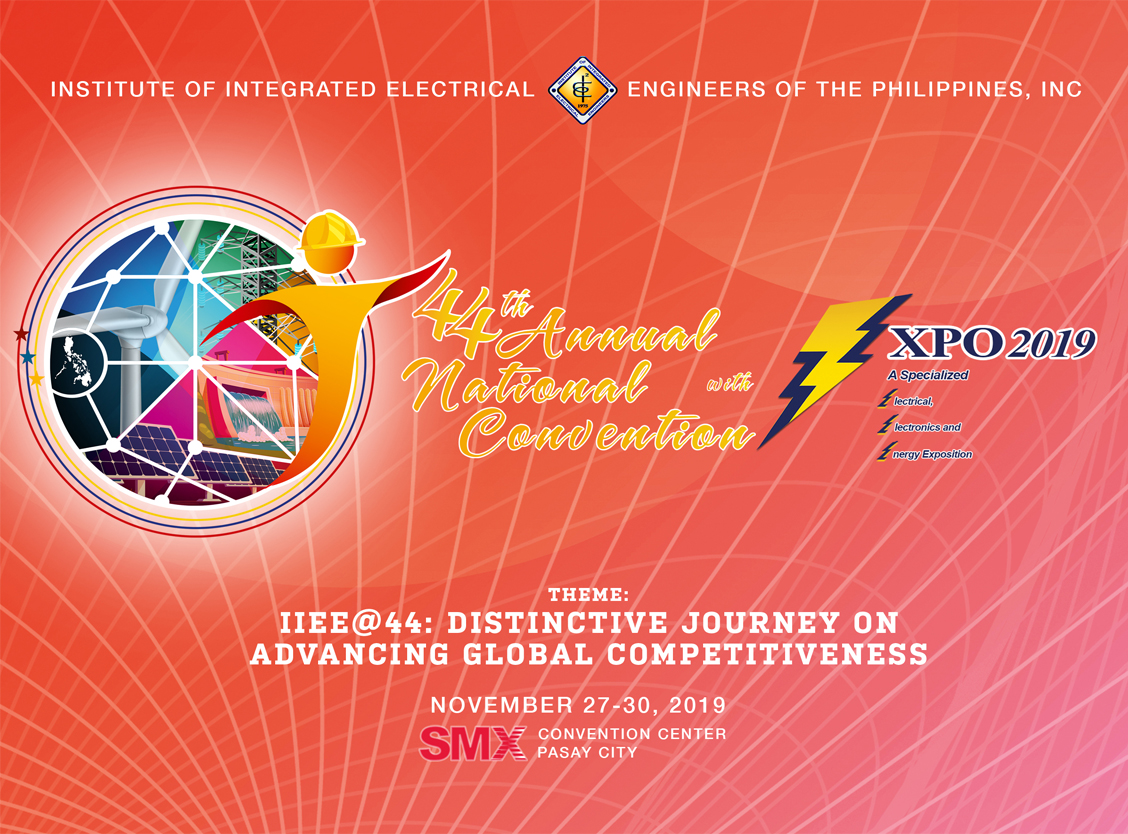 44th IIEE Annual National Convention & 3Expo 2019