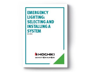 Emergency Lighting: Selecting and Installing a System
